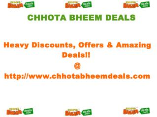 Chhota Bheem Deals - Best Offers & Heavy Discounts