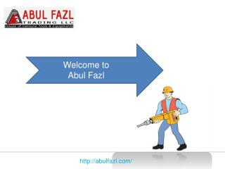 Abul Fazl Trader Concrete Mixer Suppliers in UAE