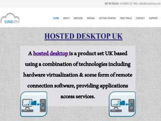 UK Cloud Hosting Services