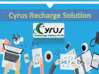 Cyrus Recharge - Online Travel Portal Development