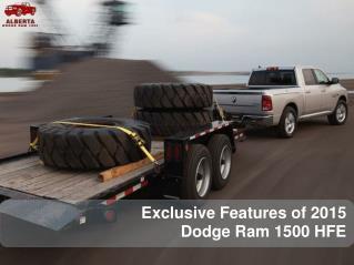 Exclusive Features of 2015 Didge Ram