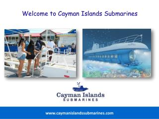 Exciting Underwater Tour Options in the Cayman Islands.