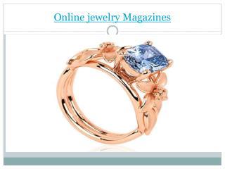 Online jewelry magazines