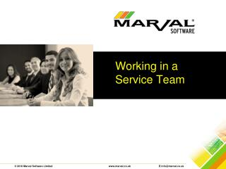Working in a Service Team