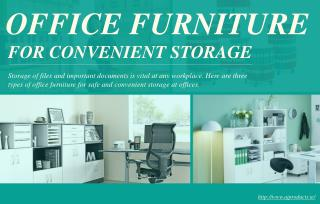 Storing office files and documents conveniently