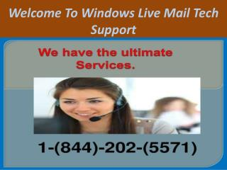 Windows Live Mail Technical Support Phone Number