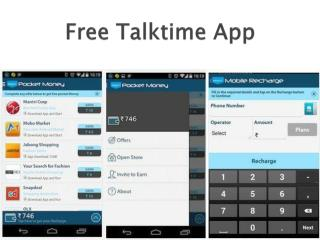 How to win your share of free talktime app?
