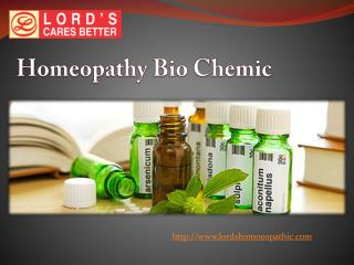 Homeopathy Bio Chemic