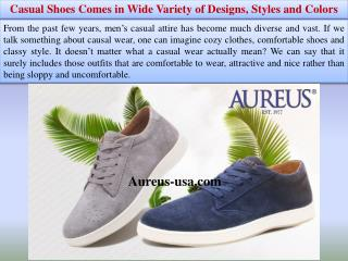 Casual Shoes Comes in Wide Variety of Designs, Styles and Colors