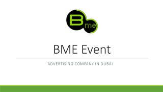 Advertising Company in Dubai