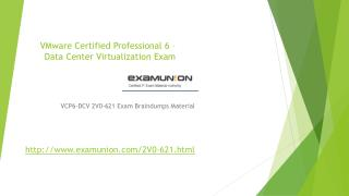 ExamUnion VMware 2V0-621 VCP6-DCV Exam Braindumps,2V0-621 exam question