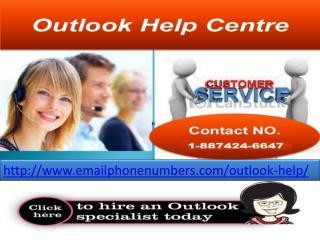 Outlook Helpline Number 1-877-424-6647 toll free</title>