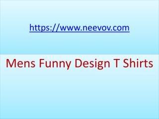 Navy Colour Mens Funny Design Cloth T Shirts