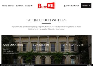 GET IN TOUCH WITH BuzzMTL.ca