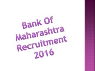 Bank Jobs 2016