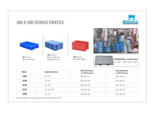 Dimension Wise Crates - Series Crates - 300 x 200