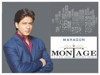 Low Cost Property  Mahagun Montage  at Crossings Republik Ghazibad