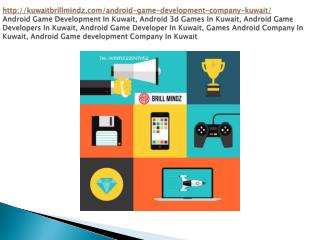 Android Game Development In Kuwait