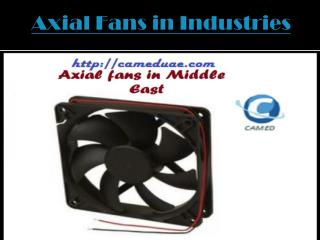 Axial Fans in Industries