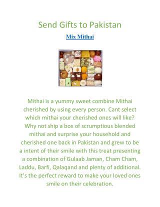 Send Gifts to Pakistan   Mix Mithai