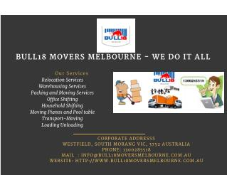 Find A Cheap Corporate Movers Melbourne