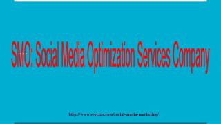Social Media Optimization Services, Social Media Optimization (SMO) Company India