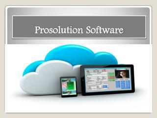 Prosolution Software