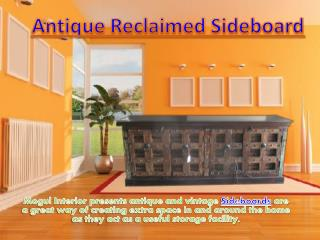 Antique Reclaimed Sideboard