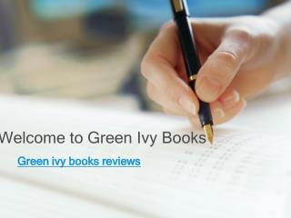 Green Ivy Publishing Reviews - Fact or Rumor?
