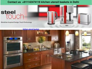 Call us  919650100908 kitchen utensil baskets in Delhi NCR