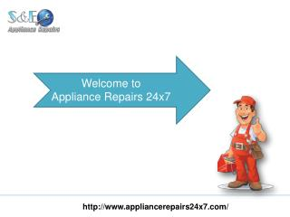 Find Appliance Repair Services Near You