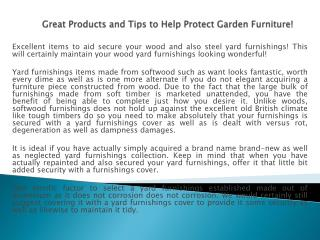 Great Products and Tips to Help Protect Garden