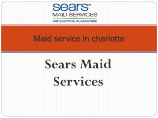 House cleaning services charlotte
