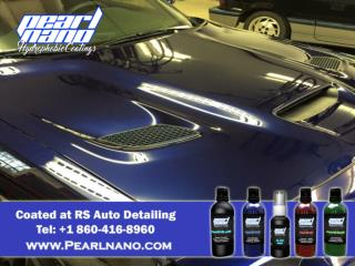 Are you not satisfied with your old car coatings? Try Pearl Nano Ceramic coating.