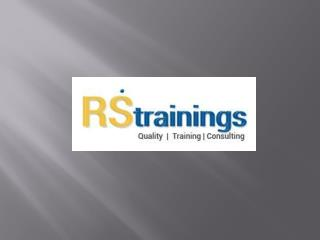 ETL Testing Online Training Hyderabad