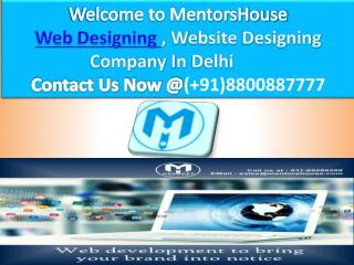Web Designing - Web Design Company