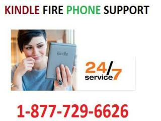 Online Kindle Fire Phone Support Number 1-877-729-6626 to fix issues