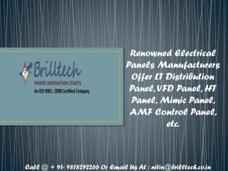 AMF Control Panel Supplier in Delhi