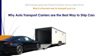 Why Enclosed Auto Shipping Trailers are Perfect for Car Shipping