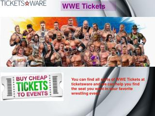 WWE Tickets_Ticketsware
