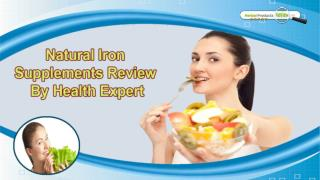 Natural Iron Supplements Review By Health Expert
