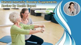 Natural Immunity Booster Supplements Review By Health Expert