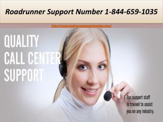 Roadrunner Support Number | 1-844-659-1035