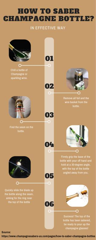 6 Steps to Saber Champagne