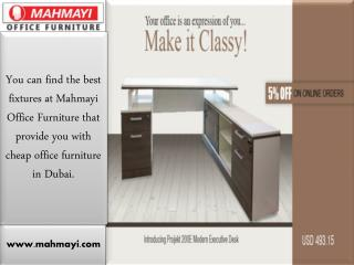 A Short Information to Selecting Office Furniture in UAE