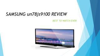samsung un78js9100 review