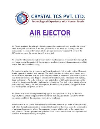 Air Ejector