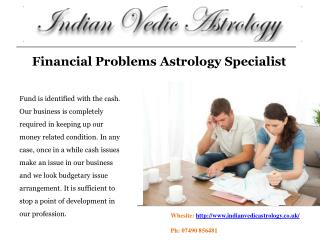 Financial Problems Astrology Specialist