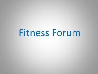 Fitness Forum: Exercising outdoors has benefits