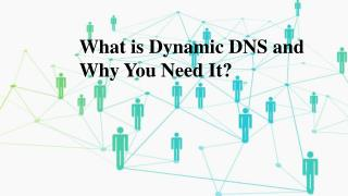 What is Dynamic DNS and Why You Need It?